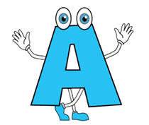 Alphabets Animated Clipart - Animated Gifs