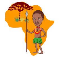 free africa clipart clip art pictures graphics illustrations rh classroomclipart com african clip art images african clip art borders
