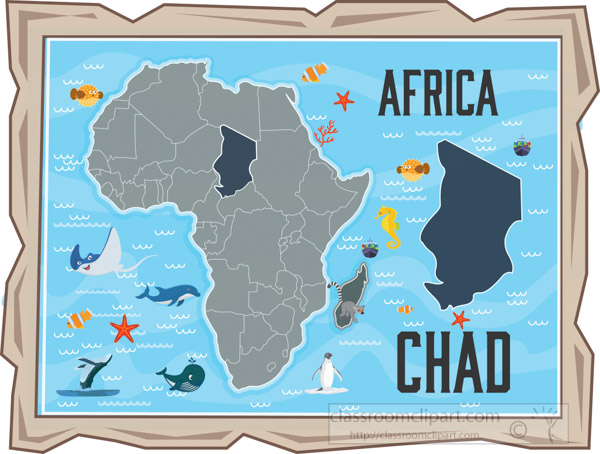 map-of-chad-with-ocean-animals-africa-continent-clipart.jpg