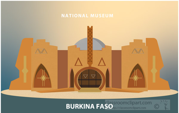 national-museum-burkina-faso-africa-clipart.jpg