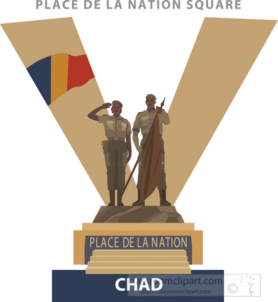 place-de-la-nation-square-chad-vector-clipart.jpg