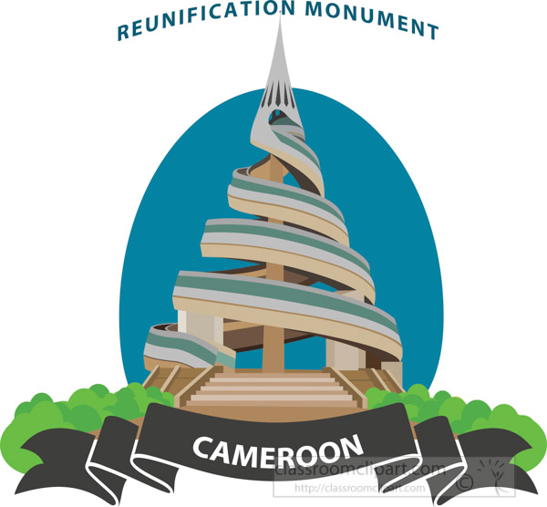 reunification-monument-cameroon-africa-clipart.jpg