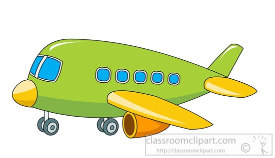 Airplane Wheel Clip Art : Aircraft clipart green toy plane with wheels