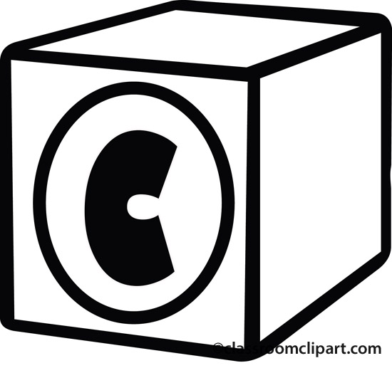 Letter C Clipart Black And White Letter R Clipart Black And White