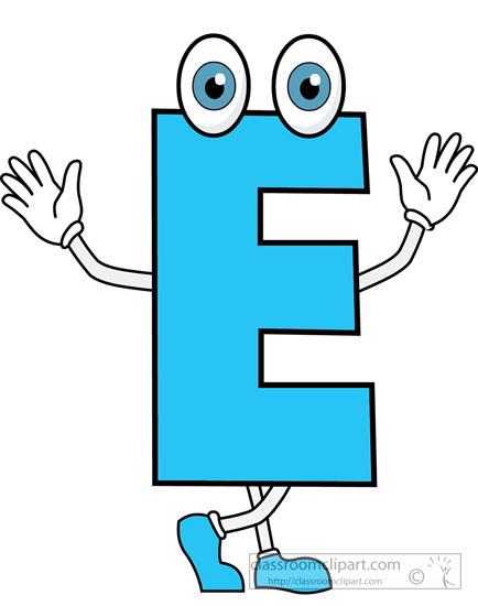 alphabets clipart letter e 2 cartoon alphabet clipart classroom rh classroomclipart com letter e clip art free letter e clipart black and white