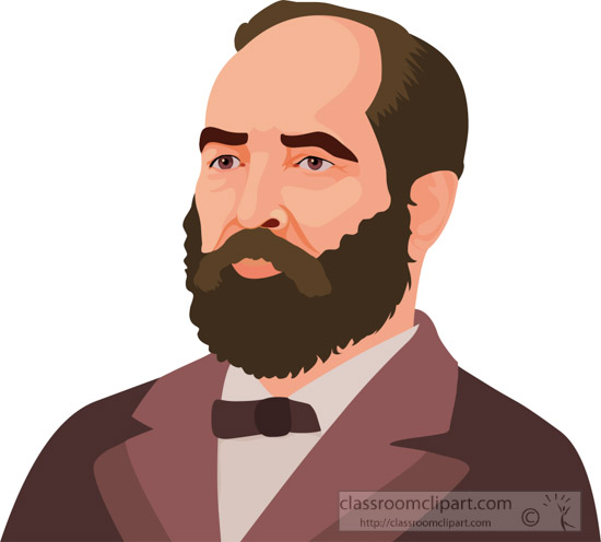 james-garfield-american-presidents-20-clipart.jpg