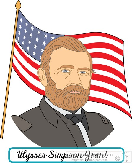 president-Ulysses-Simpson-Grant-with-flag-clipart.jpg