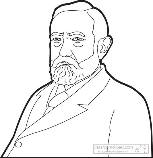 president-benjamin-harrison-outline-clipart.jpg