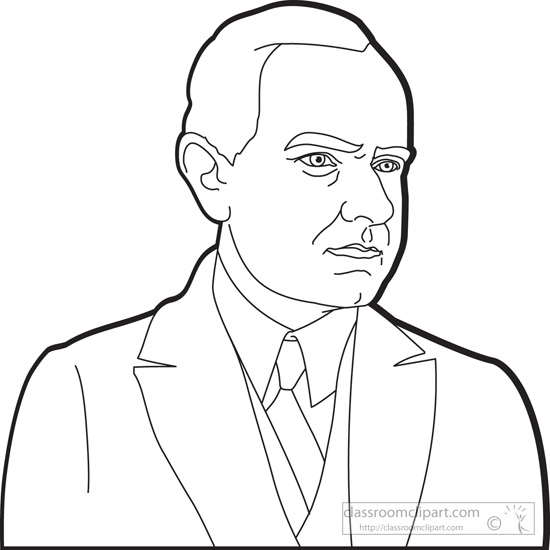 president-calvin-coolidge-outline-clipart.jpg