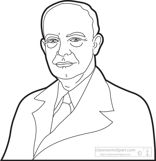 Presidents Of The United States Clipart President Dwight