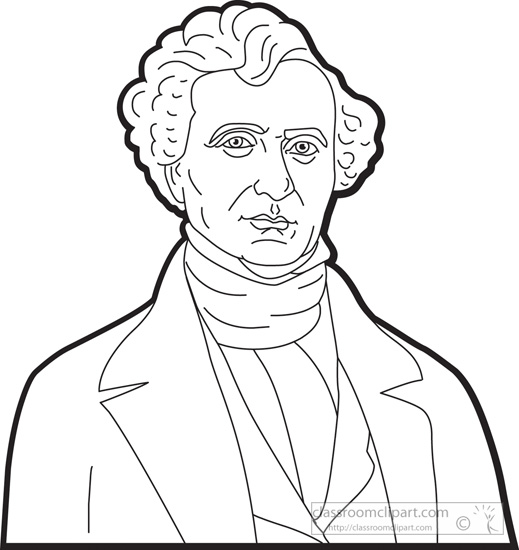 president-franklin-pierce-outline-clipart.jpg