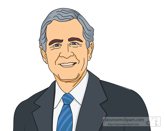American Presidents : president-george-w-bush-clipartrge_w ...