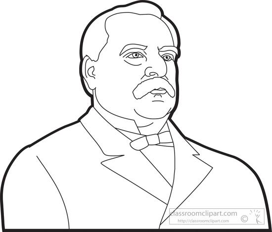 president-grover-cleveland-outline-clipart.jpg