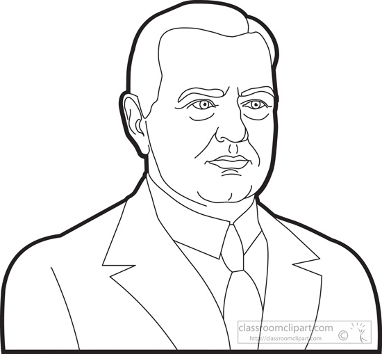 president-herbert-hoover-outline-clipart.jpg