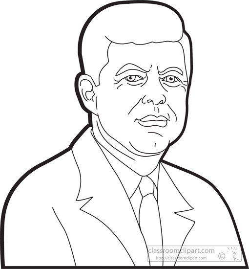 Jfk coloring pages coloring pages for Jimmy carter coloring page