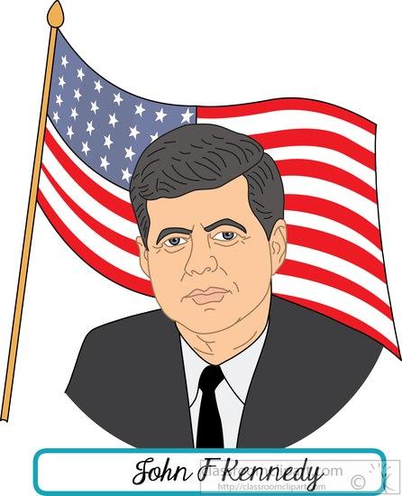 president-john-f-kennedy-with-flag-clipart.jpg