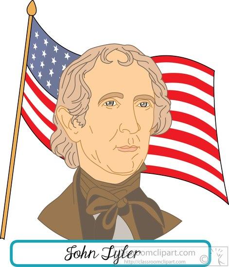 president-john-tyler-with-flag-clipart.jpg