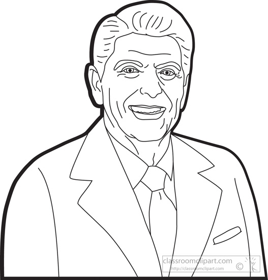 president-ronald-reagan-clipart-outline.jpg