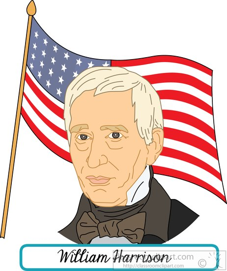 president-william-harrison-with-flag-clipart.jpg