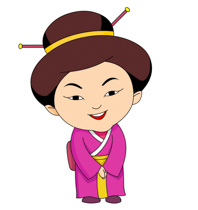 Clip Art Chinese Clipart free ancient china clipart clip art pictures graphics woman in treditional chinese costume smiling size 97 kb