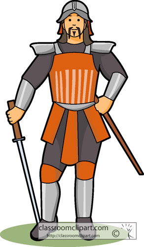 Ancient China Clipart Chinese Warrior Classroom Clipart
