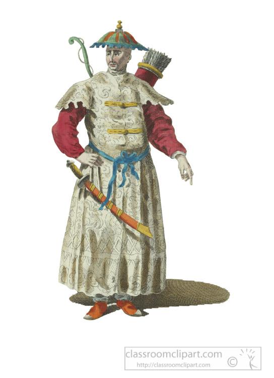 clothing-of-mandarian-war-in-chinese-Tartary-1700.jpg