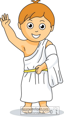 ancient greece clipart greece boy wearing toga culture ancient rome clipart roma clip art