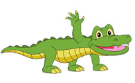 Free Alligator Clipart - Clip Art Pictures - Graphics - Illustrations