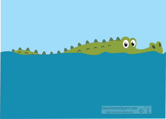 alligator-head-out-of marsh-water-clipart.jpg