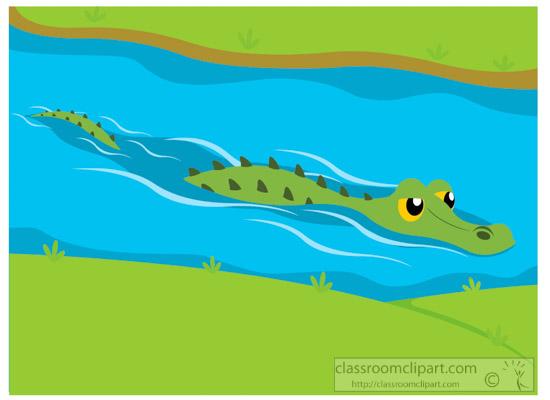 alligator-swimming-in-waterway-clipart-318.jpg