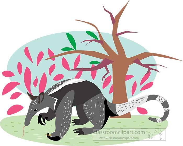 anteater-walking-near-a-tree-vector-illustration.jpg