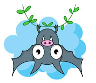 Free Bats Cliparts, Download Free Clip Art, Free Clip Art on Clipart Library