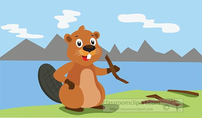 beaver-sitting-on-river-edge-holding-twig-vector-clipart.jpg