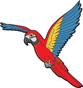 search results for macaw parrot clip art pictures graphics rh classroomclipart com Love Birds Clip Art Snake Clip Art