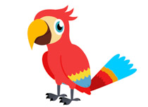 search results for macaw clip art pictures graphics rh classroomclipart com macaw bird clipart macaw clipart black and white