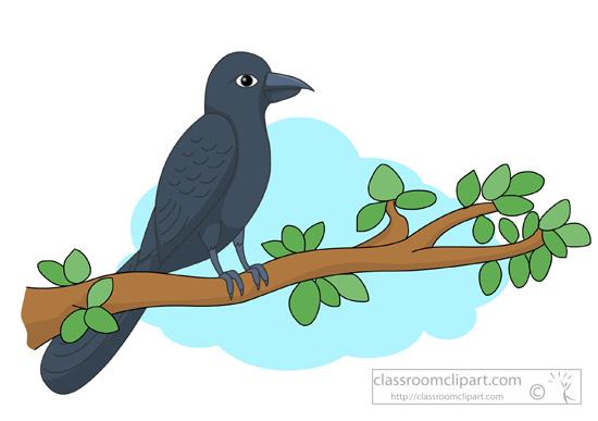 Animal Clipart - Bird Clipart - cuckoo-bird-on-tree-branch ...