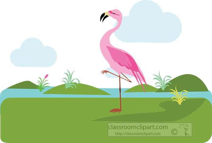 pink-flamingo-standing-near-greenery-and-lake-area-clipart.jpg