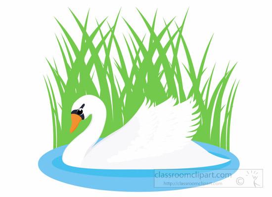 Swan Lake Clipart Bird Clipart : swan-bi...