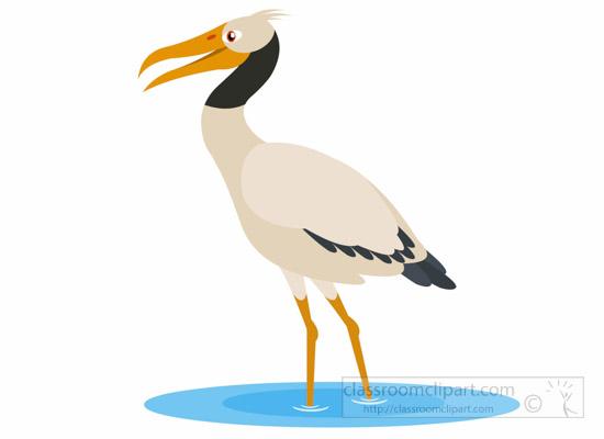 animal clipart bird clipart wood stork bird clipart 1012 rh classroomclipart com stock clipart santa hat stork clip art free downloads