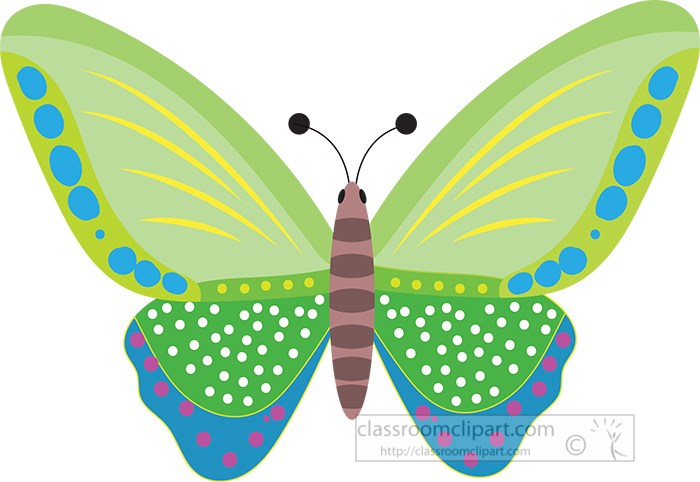 colorful-spotted-green-blue-butterfly-vector-clipart.jpg
