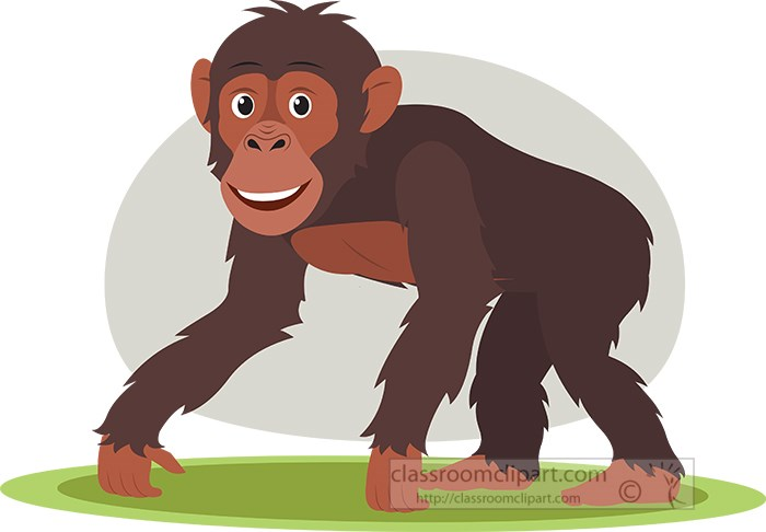 chimpanzee-on-all-fours-side-view-vectorclipart.jpg