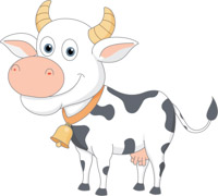 free cow clipart clip art pictures graphics illustrations rh classroomclipart com free cow clipart to download free cow clip art black and white