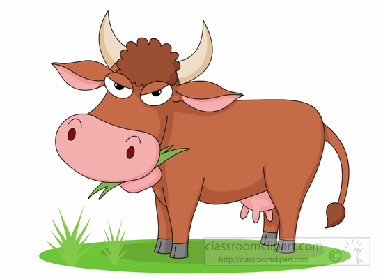 cow-with-attitude-eating-grass-clipart-6125.jpg