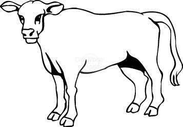 Cow Clipart Clipart- cow_0 - Classroom Clipart