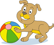 Dog ball clip art - photo#26