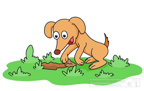 dog clipart clipart dog digging ground looking for bones dog bones clipart vector file dog bone clipart pdf