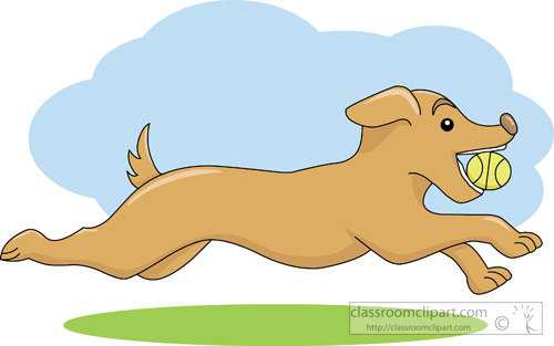free clipart dog running - photo #11
