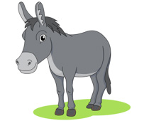 free donkey clipart clip art pictures graphics illustrations