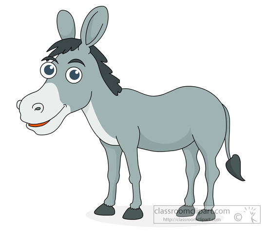 free clipart of a donkey - photo #27