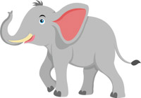 free elephant clipart clip art pictures graphics illustrations